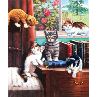 Sunsout - 1000 pièces - Kevin Walsh - Playtime in the Study
