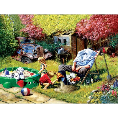 SunsOut - 1000 pieces - Kevin Walsh - A Day with Grandpa
