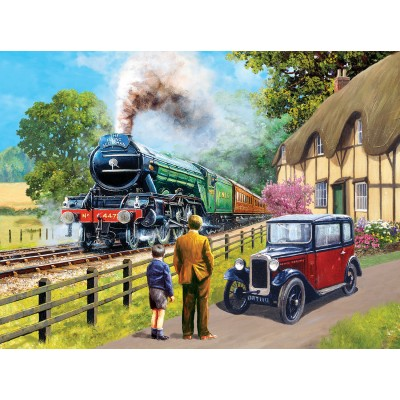 SunsOut - 1000 pieces - Kevin Walsh - The Flying Scotsman