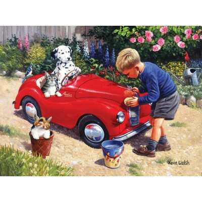 SunsOut - 1000 pieces - Kevin Walsh - Washing the Car