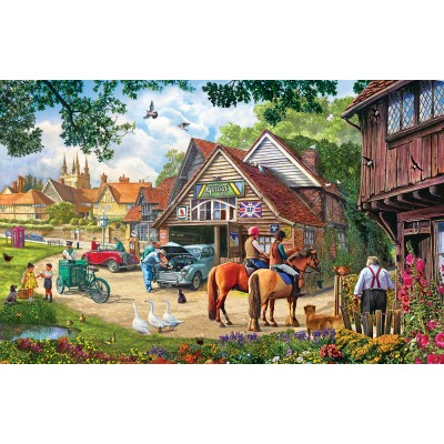 SunsOut - 1000 pieces - Kevin Walsh - The Old Garage