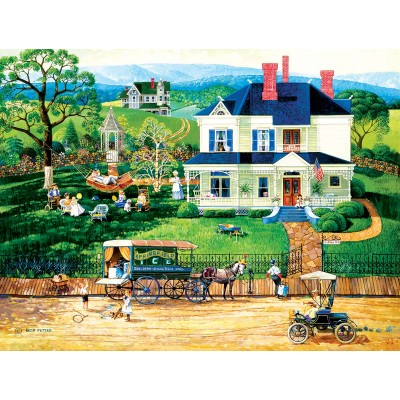SunsOut - 500 pieces - XXL Pieces - The Ice Wagon