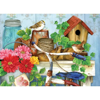 SunsOut - 500 pieces - XXL Pieces - Jane Maday - The Old Garden Shed