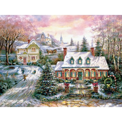 SunsOut - 1000 pieces - Carl Valente - Holiday Magic