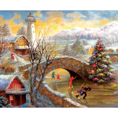 SunsOut - 1000 pieces - Nicky Boehme - Joyous Season