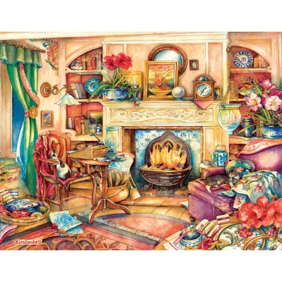 SunsOut - 1000 pieces - Kim Jacobs - Fireside Embroidery