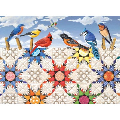 SunsOut - 500 pieces - XXL Pieces - Feathered Stars