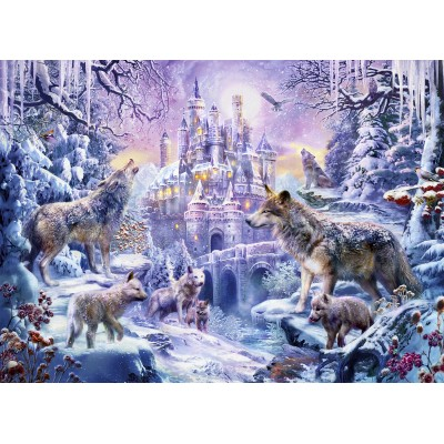 SunsOut - 500 pieces - Jan Patrik Krasny - Castle Wolves