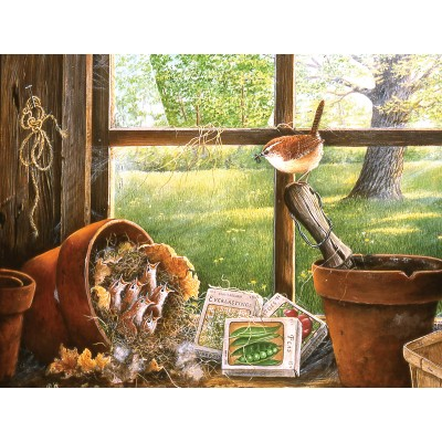 SunsOut - 500 pieces - XXL Pieces - Garden Shed Seedlings