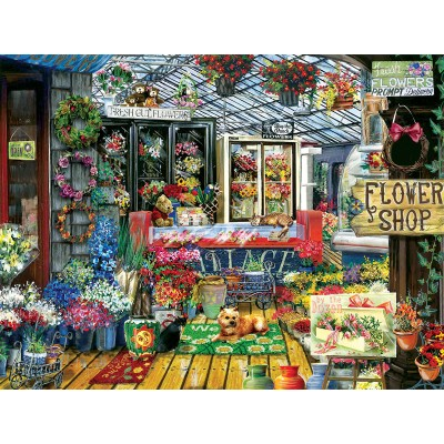 SunsOut - 500 pieces - XXL Pieces - Fresh Cut Flowers