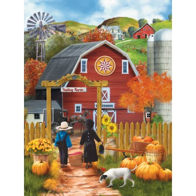 SunsOut - 500 pieces - XXL Pieces - Valley Farm