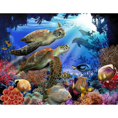 SunsOut - 500 pieces - XXL Pieces - Underwater Fantasy