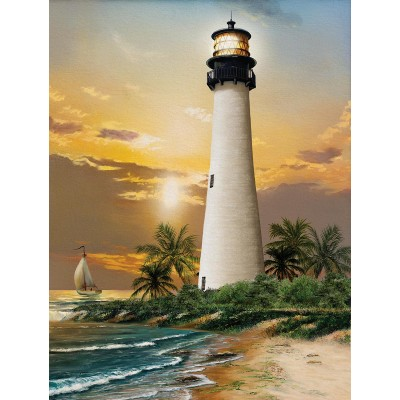 SunsOut - 500 pieces - XXL Pieces - Cape Florida Lighthouse