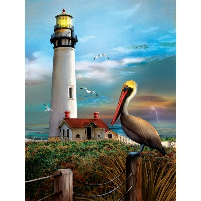 SunsOut - 500 pieces - XXL Pieces - Pigeon Point Lighthouse