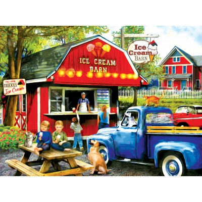 SunsOut - 1000 pieces - Tom Wood - The Ice Cream Barn