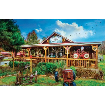 Bluebird-Puzzle - 1000 Teile - Pappy's General Store