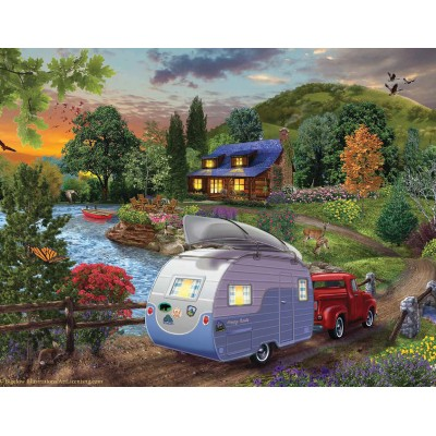SunsOut - 500 pieces - Campers Coming Home