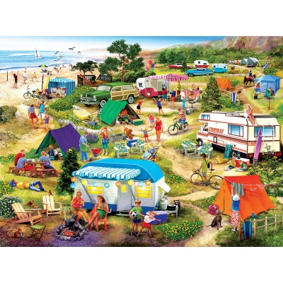 SunsOut - 1000 pieces - Seaside Campground
