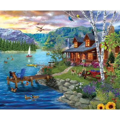 SunsOut - 1000 pieces - XXL Pieces - Peaceful Summer