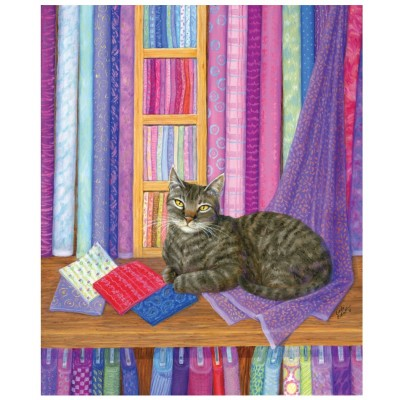 SunsOut - 1000 pieces - Linda Elliott - Quilt Shop Playmate