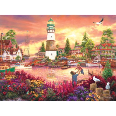 SunsOut - 1000 pieces - Chuck Pinson - Love Lifted Me up