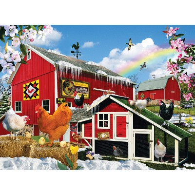 SunsOut - 1000 pieces - Lori Schory - First Signs of Spring