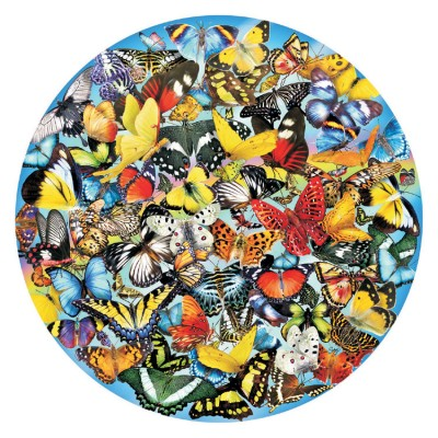 SunsOut - 1000 pieces - Lori Schory - Butterflies in the Round