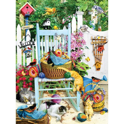 SunsOut - 1000 pieces - Lori Schory - The Knitting Chair