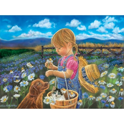 Bluebird-Puzzle - 500 Teile - Tricia Reilly-Matthews - Country Girl