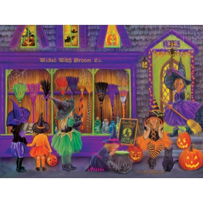 SunsOut - 300 pieces - XXL Pieces - Tricia Reilly-Matthews - Witch Broom Shop
