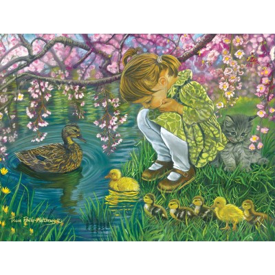 Bluebird-Puzzle - 500 Teile - Tricia Reilly-Matthews - A Mother's Love