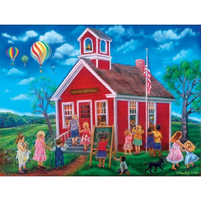 Bluebird-Puzzle - 300 Teile - XXL Teile - Time for School