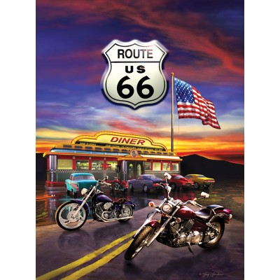 SunsOut - 1000 pieces - Greg Giordano - Route 66 Diner