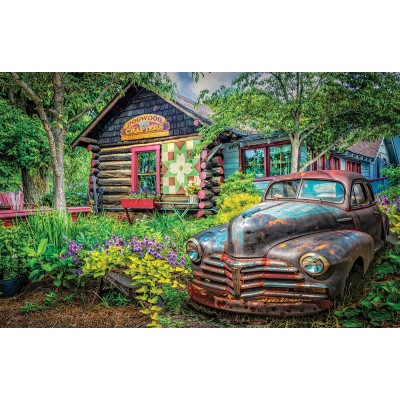 SunsOut - 550 pieces - Celebrate Life Gallery - Part of the Garden