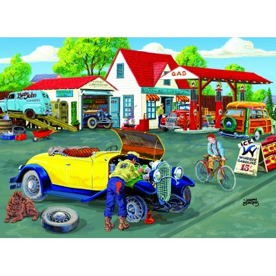 SunsOut - 500 pieces - XXL Pieces - Joseph Burgess -  Somerset Service Station