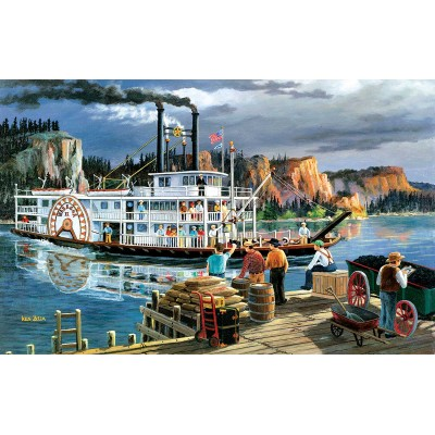 Bluebird-Puzzle - 550 Teile - Riverboat