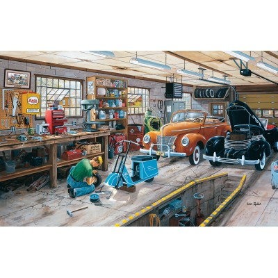 SunsOut - 550 pieces - Ken Zylla - Ford and a Cord