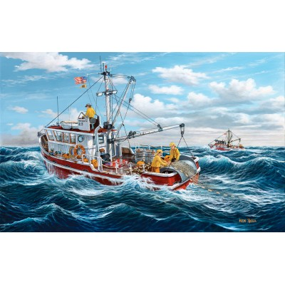 SunsOut - 550 pieces - Ken Zylla - Out of Fort Kodiak