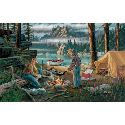SunsOut - 550 pieces - Ken Zylla - Alaska Adventure