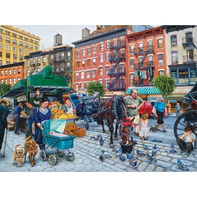 SunsOut - 1000 pieces - Susan Brabeau - The Streets of New York
