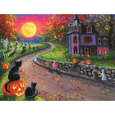SunsOut - 300 pieces - XXL Pieces - On a Spooky Night