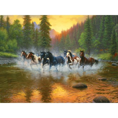 SunsOut - 1000 pieces - Mark Keathley - Evening Romp
