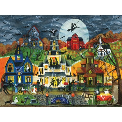 SunsOut - 300 pieces - XXL Pieces - Cheryl Bartley - Spooky Street