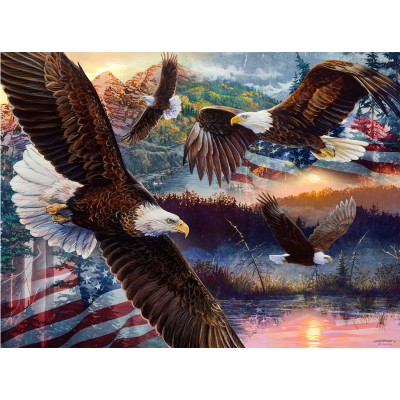 SunsOut - 1000 pieces - Land of Freedom