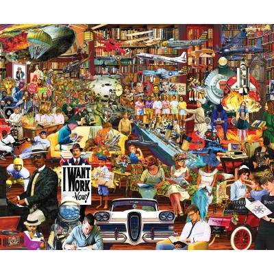 SunsOut - 1000 pieces - Neal Taylor - 20th Century History