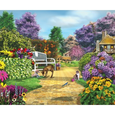 SunsOut - 1000 pieces - Caplyn Dor - Peaceful Moment