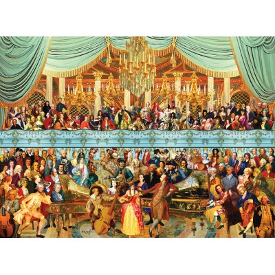 SunsOut - 1500 pieces - Neal Taylor - 18th Century History