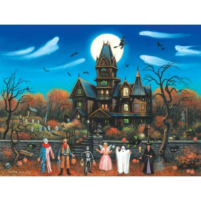 SunsOut - 300 pieces - XXL Pieces - Trick or Treaters Beware