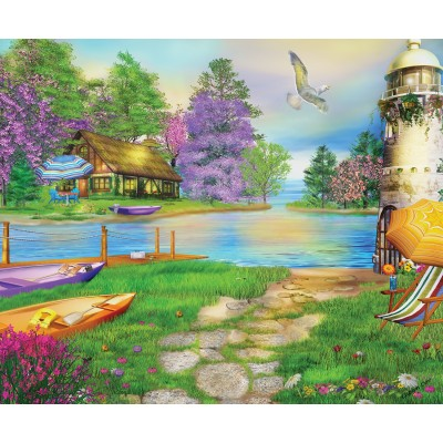 SunsOut - 1000 pieces - Caplyn Dor - Seagull Bay