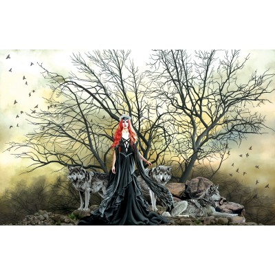 Sunsout - 1000 pièces - Nene Thomas - Red Haired Witch